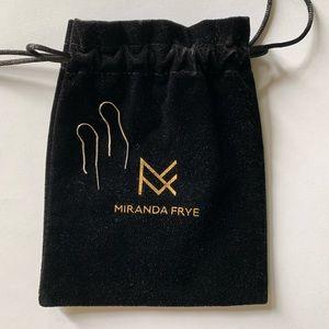 Miranda Frye Liv Threader Earrings Silver